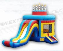 מתקן מתנפח משולב - עוגת יום הולדת