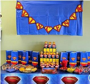superman-birthday-theme-party