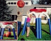 כדורסל ענק מתנפח