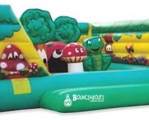 מיטת צעצועים - טרמפולינת ג'ונגל ענקית